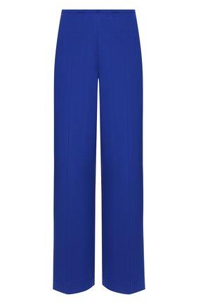 Женские шелковые брюки ST. JOHN синего цвета, арт. K830W71   Фото 1