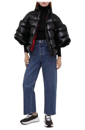 Женский пуховая куртка VALENTINO черного цвета, арт. UB3CN0055LE | Фото 2