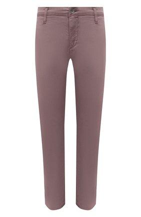 Женские хлопковые брюки AG розового цвета, арт. ART1613/SLRAVE | Фото 1