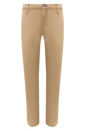 Женские хлопковые брюки AG бежевого цвета, арт. ART1613/SLSPAL | Фото 1