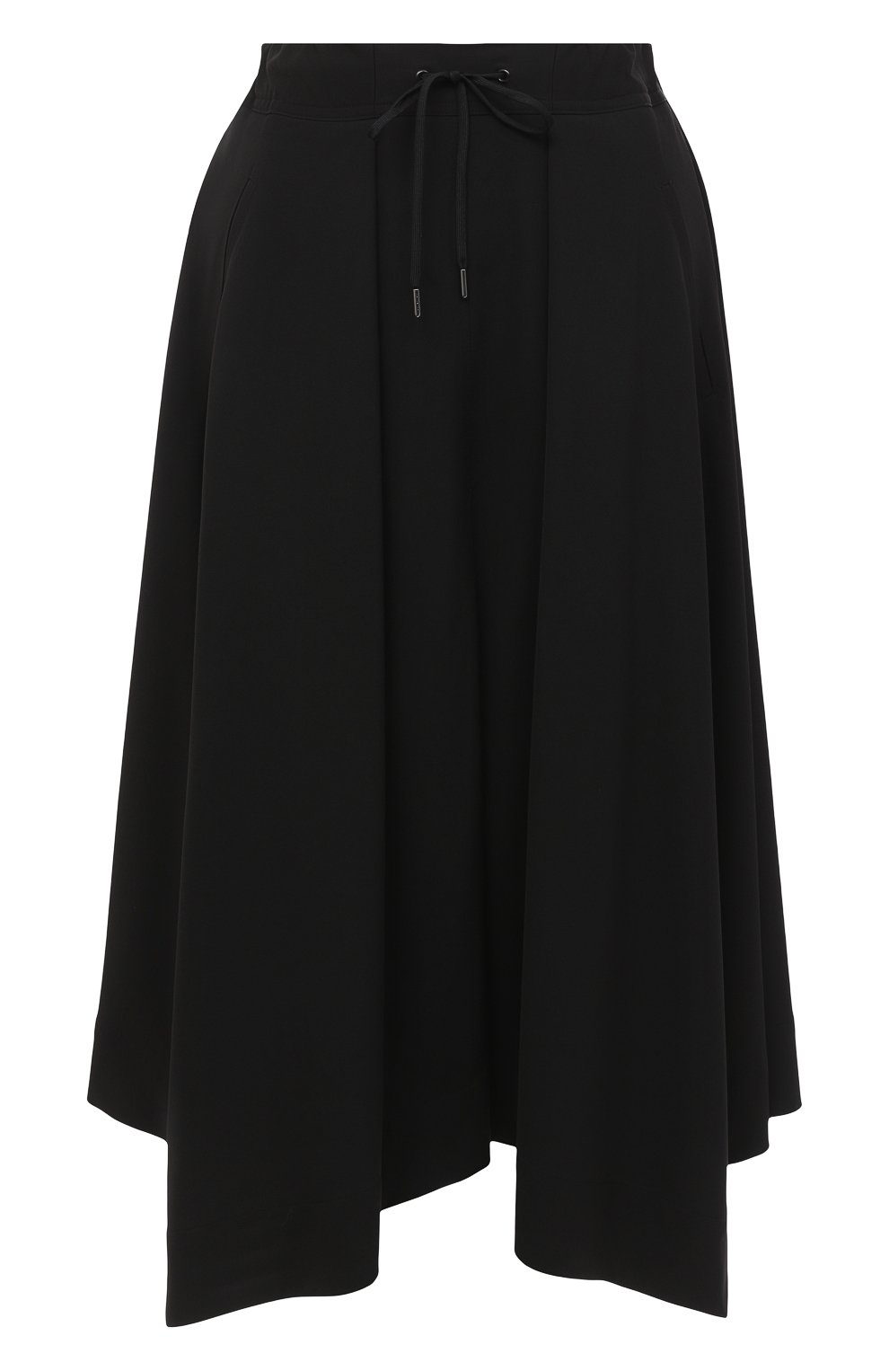 Женская шерстяная юбка ISABEL BENENATO черного цвета, арт. DW11F20 | Фото 1