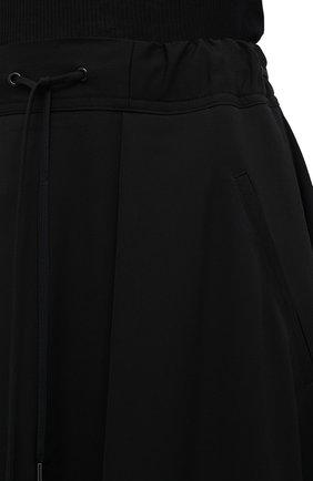 Женская шерстяная юбка ISABEL BENENATO черного цвета, арт. DW11F20 | Фото 6