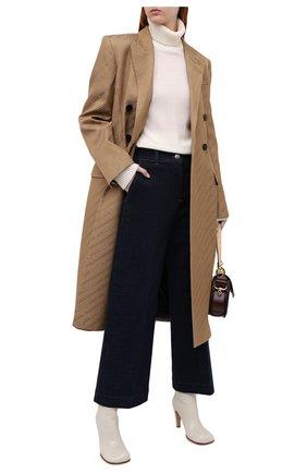 Женские джинсы LORO PIANA темно-синего цвета, арт. FAL3130 | Фото 2