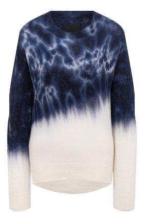 Женский кашемировый пуловер RTA синего цвета, арт. WU0CS-8330VER | Фото 1