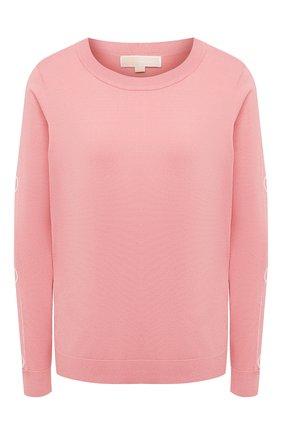 Женский пуловер MICHAEL MICHAEL KORS розового цвета, арт. MU06PC0BVC   Фото 1