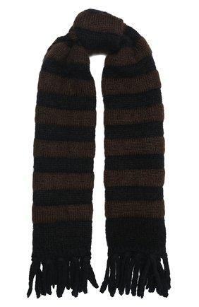 Женский шерстяной шарф 2 moncler 1952 MONCLER GENIUS хаки цвета, арт. F2-094-9Z707-00-A9566   Фото 1