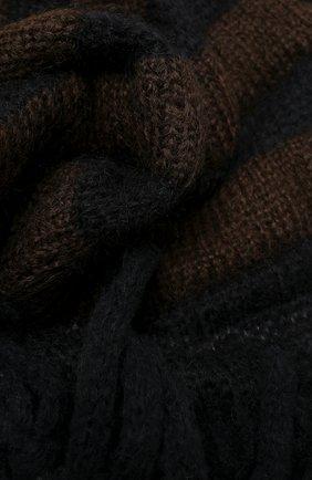 Женский шерстяной шарф 2 moncler 1952 MONCLER GENIUS хаки цвета, арт. F2-094-9Z707-00-A9566   Фото 2