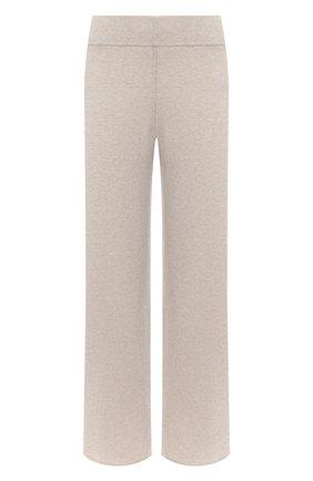 Женские кашемировые брюки LE KASHA светло-бежевого цвета, арт. 0TTAWA0 | Фото 1