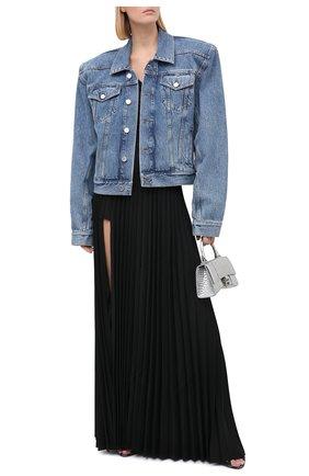 Женская юбка-макси VETEMENTS черного цвета, арт. WAH21SK109 1314/BLACK   Фото 3