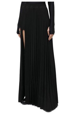 Женская юбка-макси VETEMENTS черного цвета, арт. WAH21SK109 1314/BLACK   Фото 4