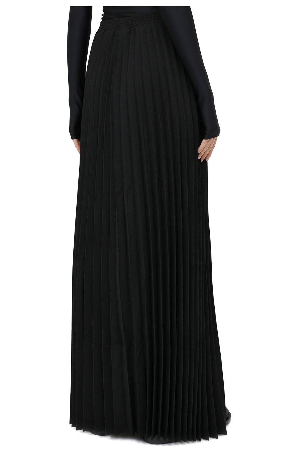 Женская юбка-макси VETEMENTS черного цвета, арт. WAH21SK109 1314/BLACK   Фото 5