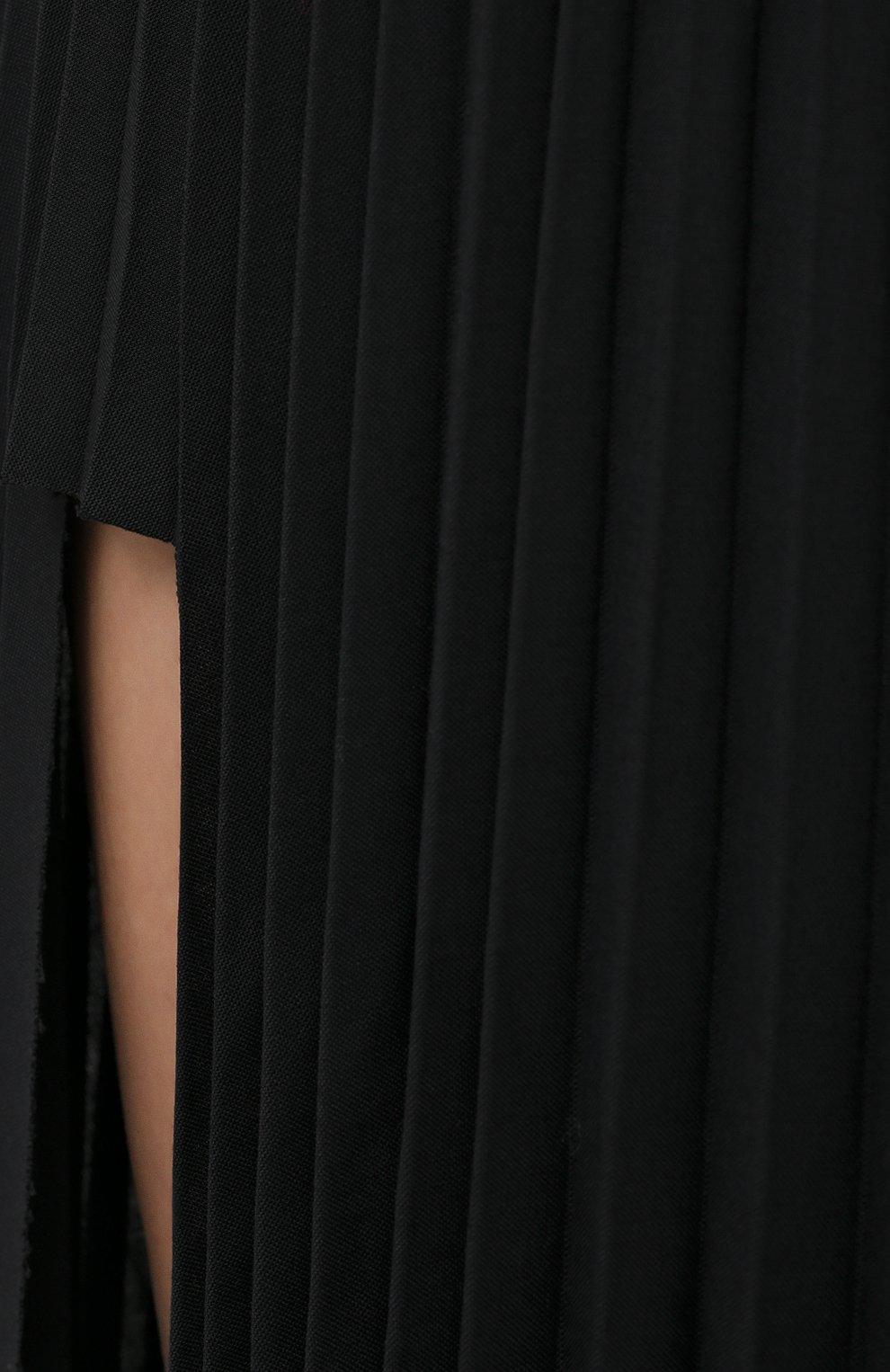 Женская юбка-макси VETEMENTS черного цвета, арт. WAH21SK109 1314/BLACK   Фото 6