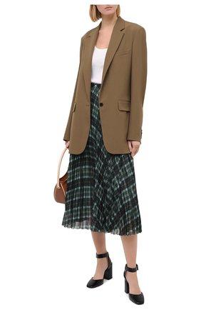 Женская кожаные туфли jinn 85 JIMMY CHOO черного цвета, арт. JINN 85/CCL   Фото 2