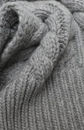 Женский шарф из шерсти и вискозы WOOLRICH серого цвета, арт. CFWWAC0083FR/UF0220   Фото 2
