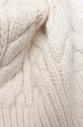 Женский шарф из шерсти и вискозы WOOLRICH белого цвета, арт. CFWWAC0083FR/UF0220 | Фото 2 (Материал: Текстиль, Шерсть, Вискоза; Принт: Без принта)