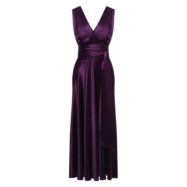 Платье из вискозы Dries Van Noten
