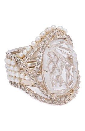 Женское кольцо DZHANELLI серебряного цвета, арт. 0510 | Фото 1