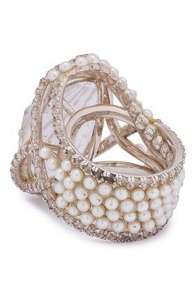 Женское кольцо DZHANELLI серебряного цвета, арт. 0510 | Фото 2
