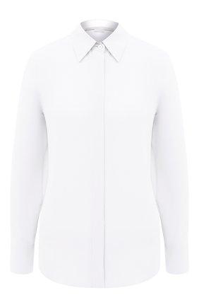 Женская шелковая рубашка STELLA MCCARTNEY белого цвета, арт. 606912/SY206 | Фото 1