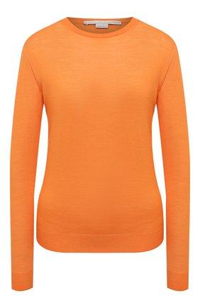 Женский шерстяной пуловер STELLA MCCARTNEY оранжевого цвета, арт. 322182/S1735 | Фото 1