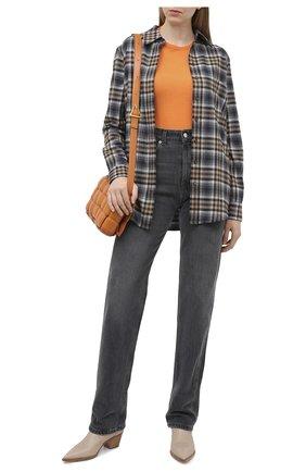Женский шерстяной пуловер STELLA MCCARTNEY оранжевого цвета, арт. 322182/S1735 | Фото 2