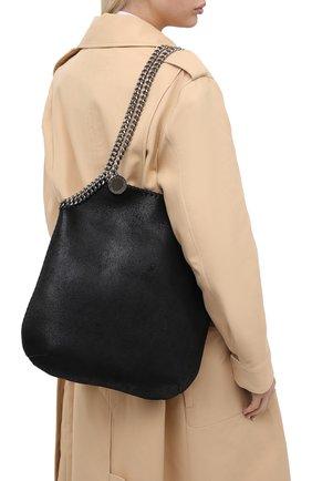 Женский сумка-тоут falabella STELLA MCCARTNEY черного цвета, арт. 700112/W8719 | Фото 2