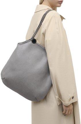 Женский сумка-тоут falabella STELLA MCCARTNEY светло-серого цвета, арт. 700112/W8719 | Фото 2