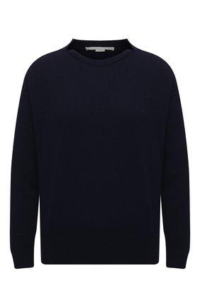 Женский пуловер из кашемира и шерсти STELLA MCCARTNEY синего цвета, арт. 601634/S2205 | Фото 1
