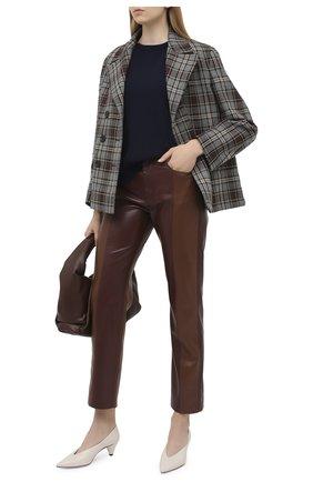 Женский пуловер из кашемира и шерсти STELLA MCCARTNEY синего цвета, арт. 601634/S2205 | Фото 2