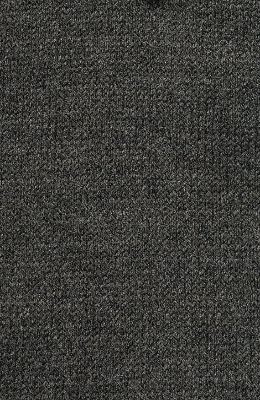 Детские шерстяные гольфы FALKE светло-серого цвета, арт. 11488.   Фото 2 (Материал: Шерсть)