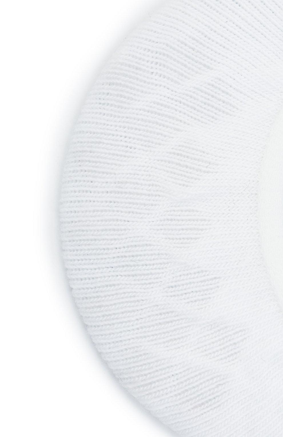 Детские носки FALKE белого цвета, арт. 10694. | Фото 2 (Материал: Текстиль, Хлопок)