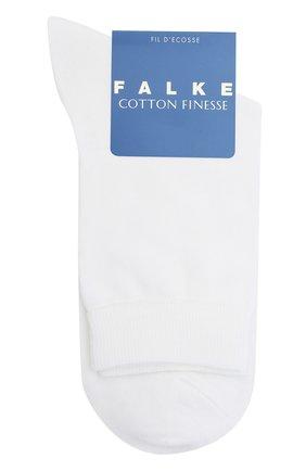 Детские носки FALKE белого цвета, арт. 10669. | Фото 1