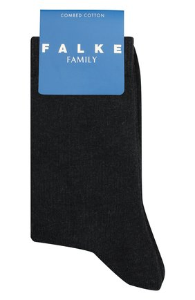 Детские носки FALKE темно-серого цвета, арт. 10645. | Фото 1