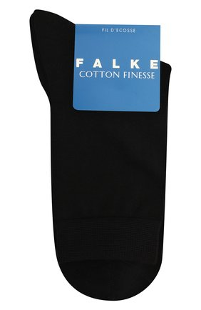 Детские носки FALKE черного цвета, арт. 10669. | Фото 1