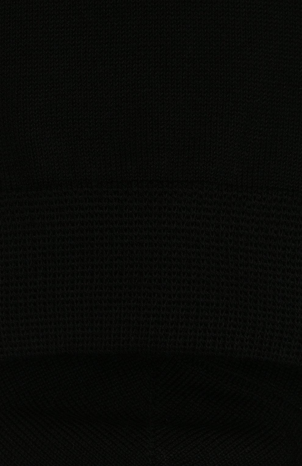 Детские носки FALKE черного цвета, арт. 10669.   Фото 2 (Материал: Текстиль, Хлопок)