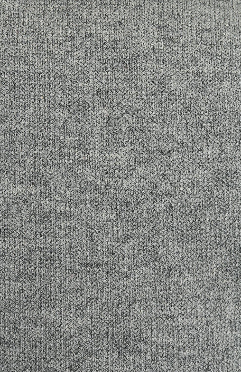 Детские гольфы FALKE серого цвета, арт. 11645. | Фото 2 (Материал: Текстиль, Хлопок)
