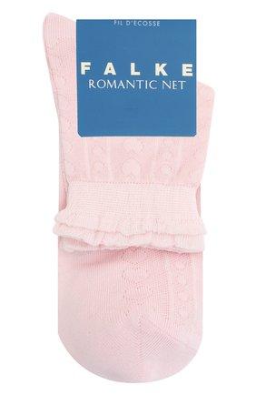 Детские хлопковые носки FALKE светло-розового цвета, арт. 12140. | Фото 1