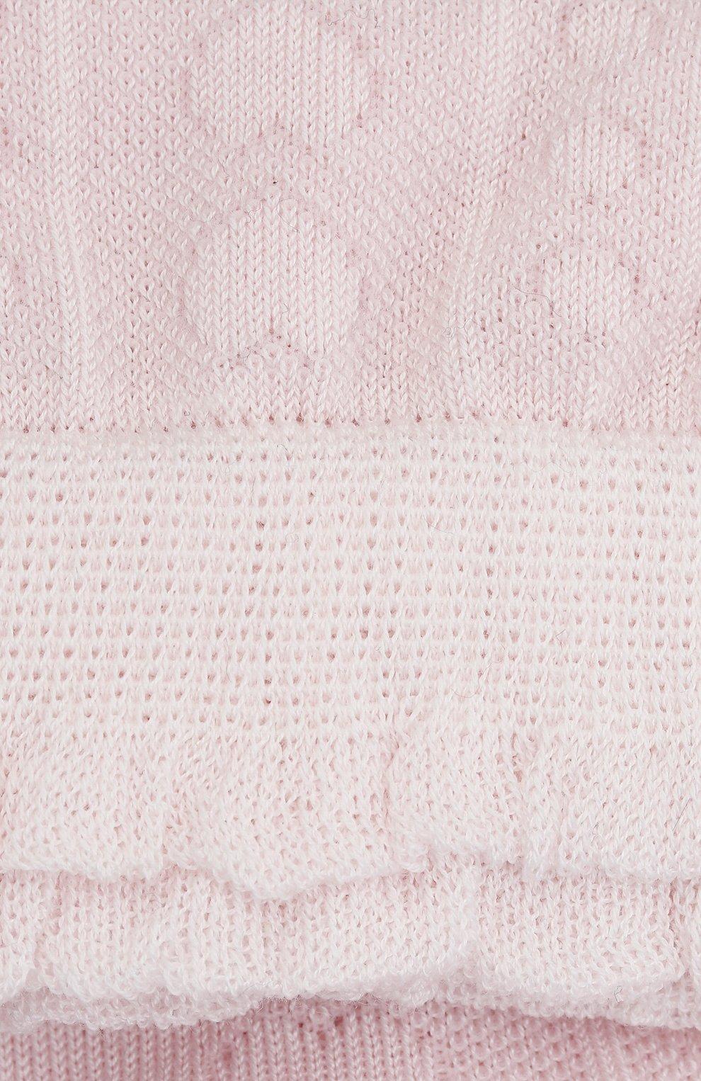 Детские хлопковые носки FALKE светло-розового цвета, арт. 12140. | Фото 2