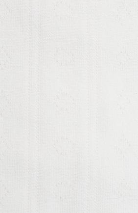 Детские хлопковые гольфы FALKE белого цвета, арт. 11851. | Фото 2