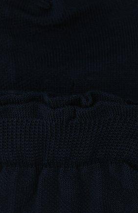 Детские хлопковые носки FALKE темно-синего цвета, арт. 12140. | Фото 2