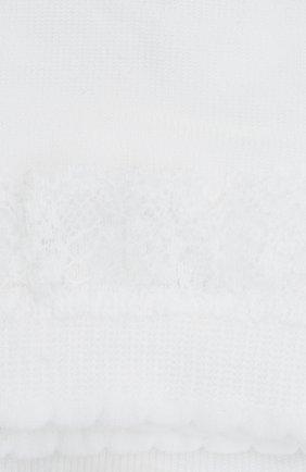 Детские хлопковые носки FALKE белого цвета, арт. 12141. | Фото 2