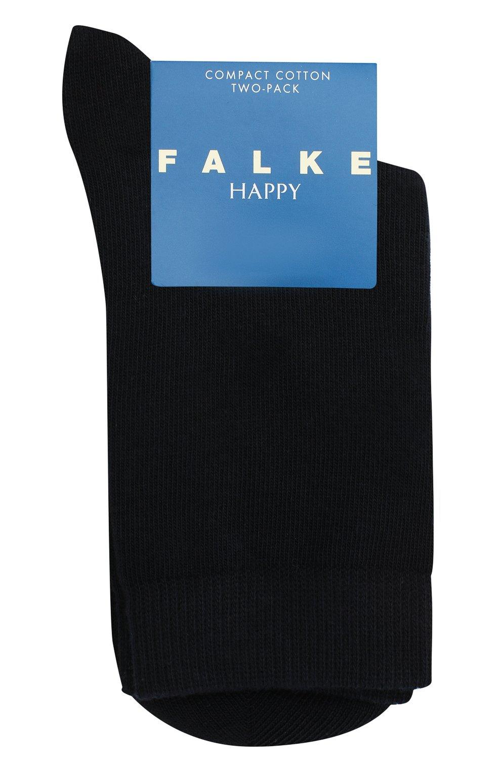 Детские комплект из двух пар носков FALKE синего цвета, арт. 12299.   Фото 1