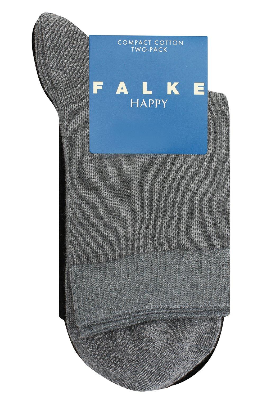 Детские комплект из двух пар носков FALKE разноцветного цвета, арт. 12299. | Фото 1 (Материал: Текстиль, Хлопок)