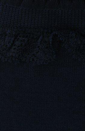 Детские хлопковые носки FALKE темно-синего цвета, арт. 12141. | Фото 2