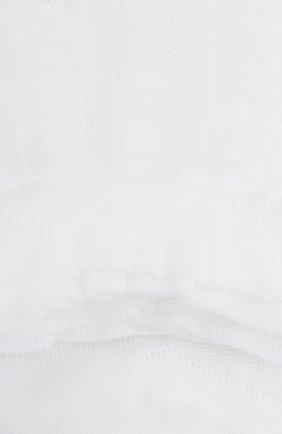 Детские хлопковые носки FALKE белого цвета, арт. 12140. | Фото 2