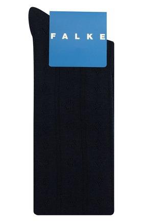 Детские хлопковые гольфы FALKE темно-синего цвета, арт. 11851. | Фото 1