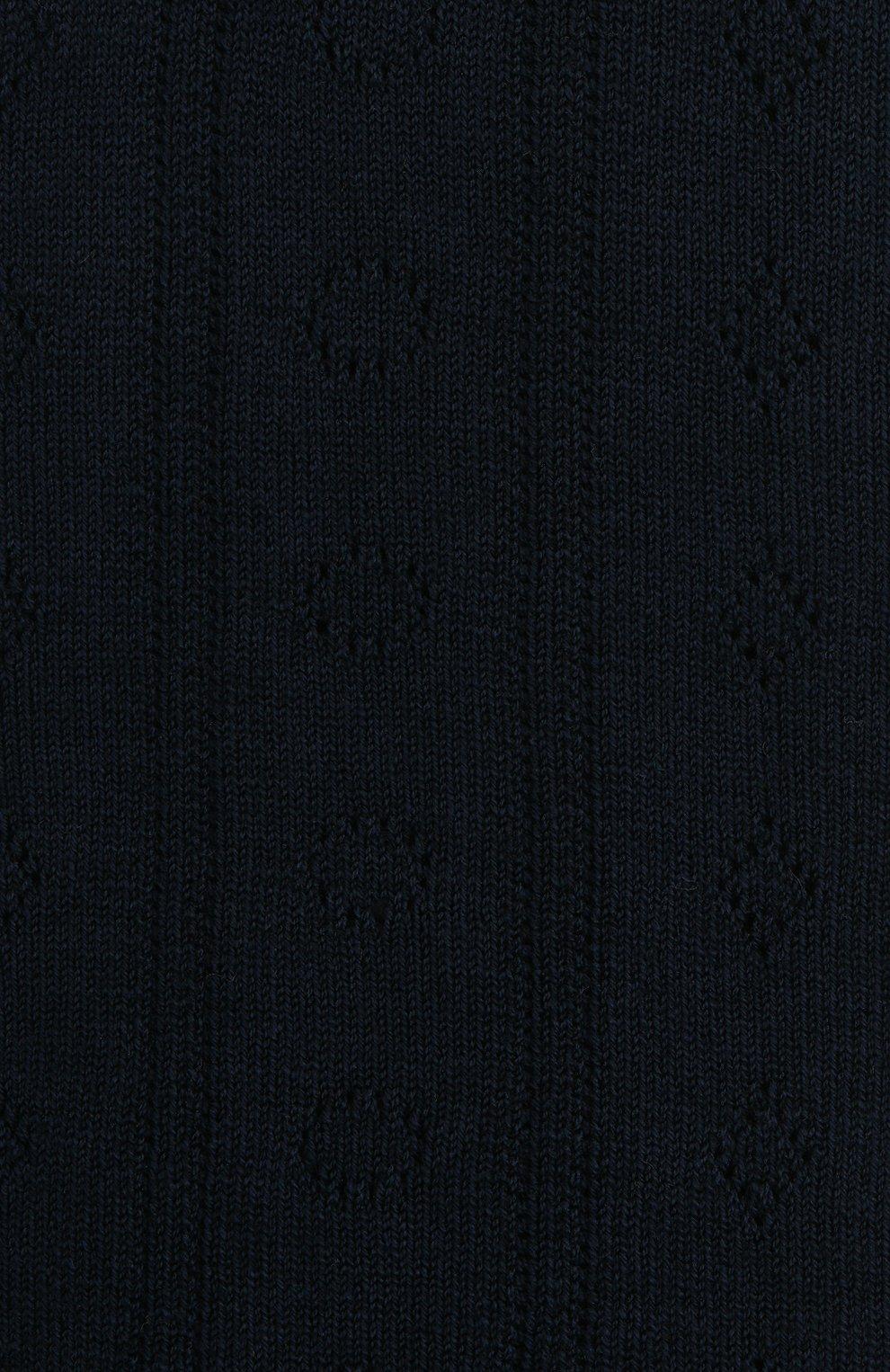 Детские хлопковые гольфы FALKE темно-синего цвета, арт. 11851. | Фото 2