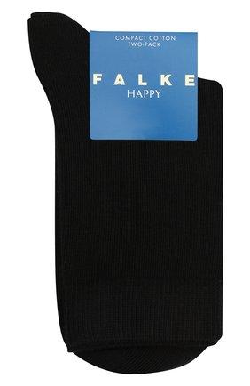 Детские комплект из двух пар носков FALKE черного цвета, арт. 12299. | Фото 1