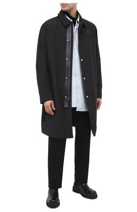 Мужские кожаные челси SERGIO ROSSI черного цвета, арт. A91440-MFI143 | Фото 2