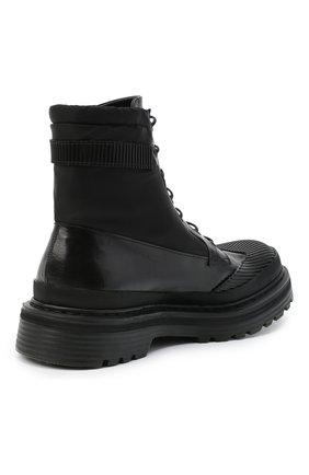 Мужские комбинированные ботинки PREMIATA черного цвета, арт. 31709/SELUX/NYAP | Фото 4